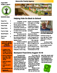 Family Agency Newsletter